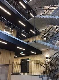 parkeringshus trappe